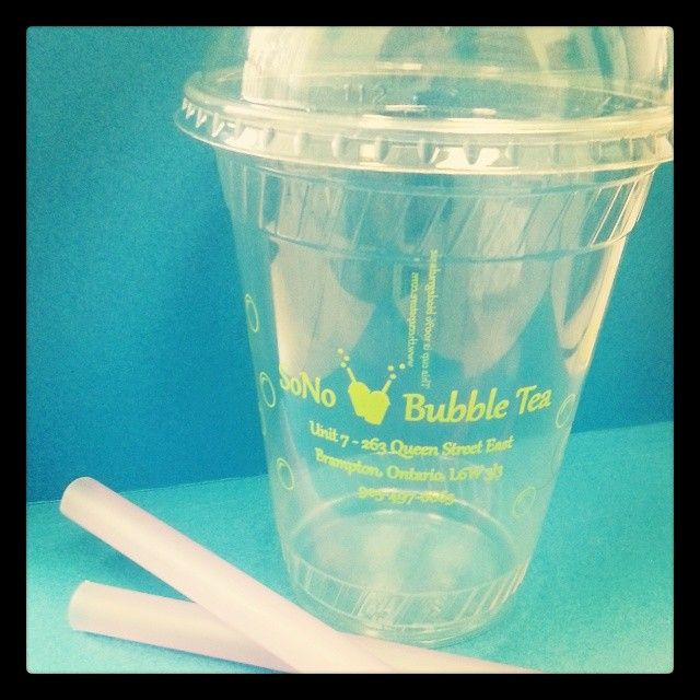 Yum! #bubbletea is perfect for a warm Friday or the weekend! Our plastic cups can be paired with some lids to get the perfect bubble tea look ;) Don't forget the straws!   Plus, these cups are biodegradable, too!  #yum #sonobubbletea #sono #weekend #friday #tgif #toronto #tdot #bubble #drink
