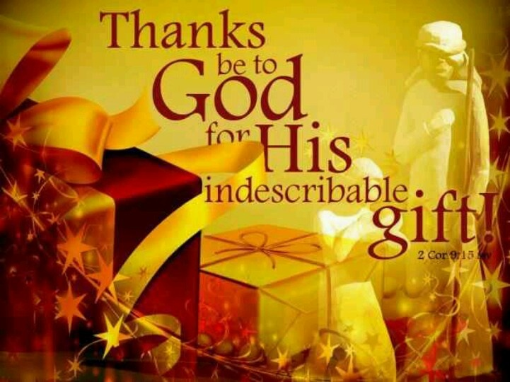 12 best Indescribable Gift images on Pinterest | 2 corinthians ...