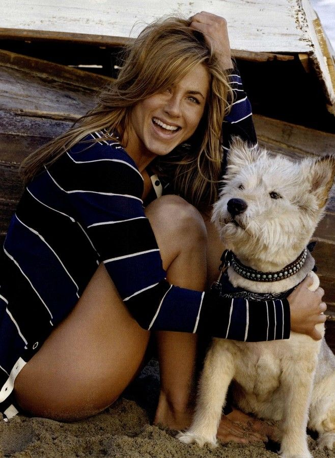 Jennifer Aniston. One day, I'm going to be as hot as she is and I'm going to stay that way as long as she has.