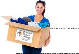 Kleiderspende per Paket