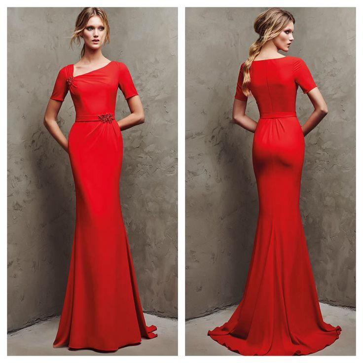 How many of you would wear this to an event? Lamiva by Pronovias. #miabellacouture #californiaglam #pronovias #lamiva #reddress #beautiful #stunning #highfashion #fashionista #style #dressshopping