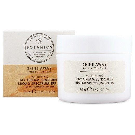 Botanics® Shine Away Day Cream SPF 15 - 1.69oz : Target