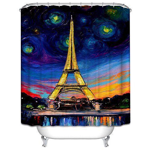 WAYLONGPLUS Eiffel Tower Oil Painting Waterproof Polyeste... https://www.amazon.com/dp/B01JIUKX9K/ref=cm_sw_r_pi_dp_x_mqVkyb1YJ8SHM