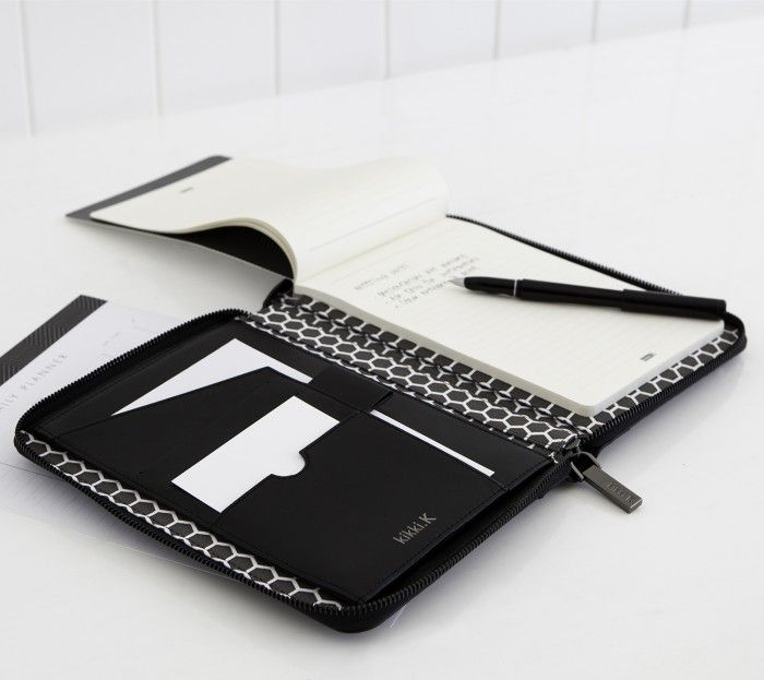 Leather A5 Compendium Black - Paper Organization - Accessories