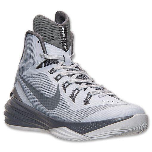 Men's Nike Hyperdunk 2014 Basketball Shoes | Finish Line | Wolf Grey/Pure  Platinum/