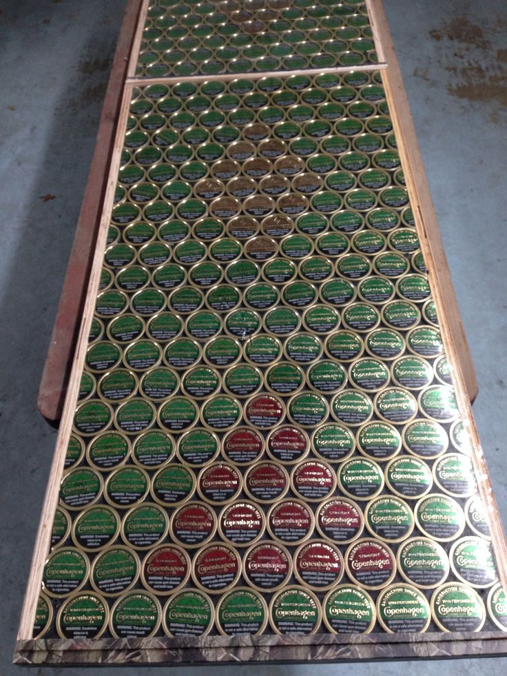 Copenhagen beer pong table #copenhagen #beerpong