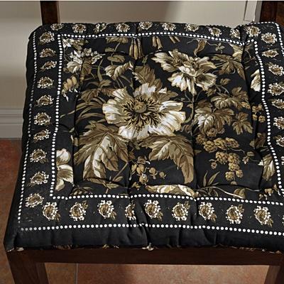 Garden Print Seat Cushion
