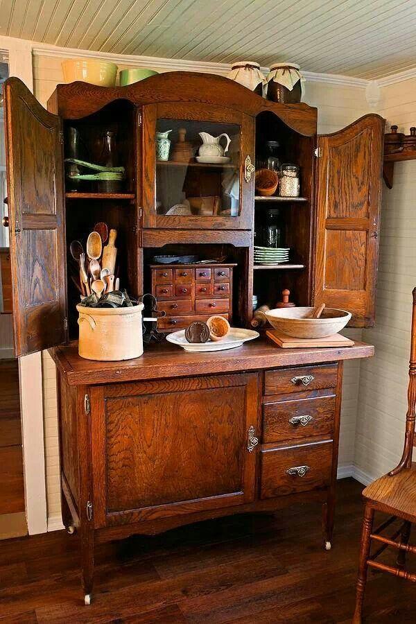 Hoosier cabinet at it's finest.