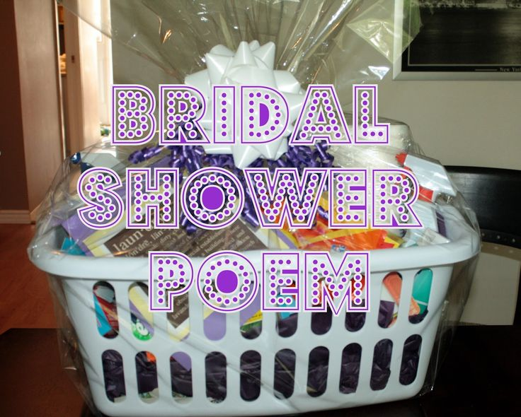 Best 25 Bridal Shower Poems Ideas On Pinterest
