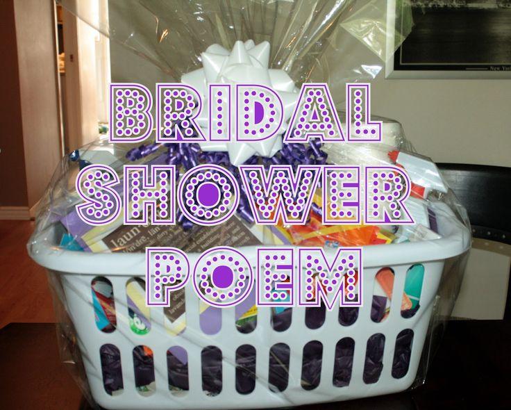 Best 25+ Bridal Shower Poems Ideas On Pinterest