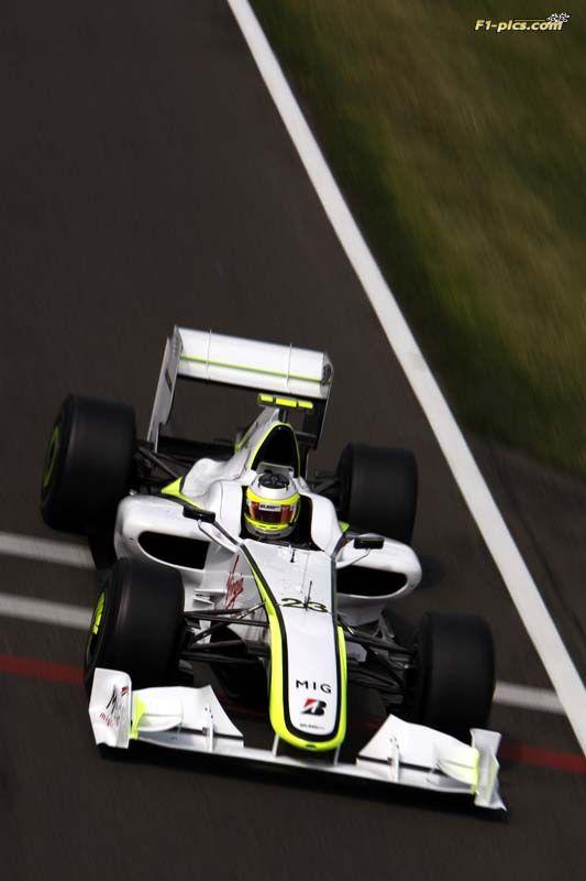 Silverstone 20-06-2009 British GP, Rubens Barrichello ©Brawn GP