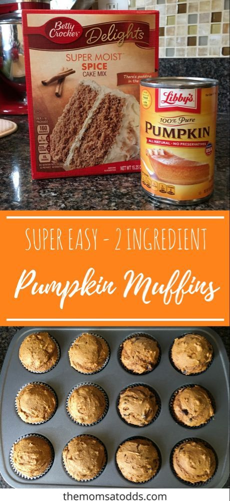 Easy & Delicious Pumpkin Muffins