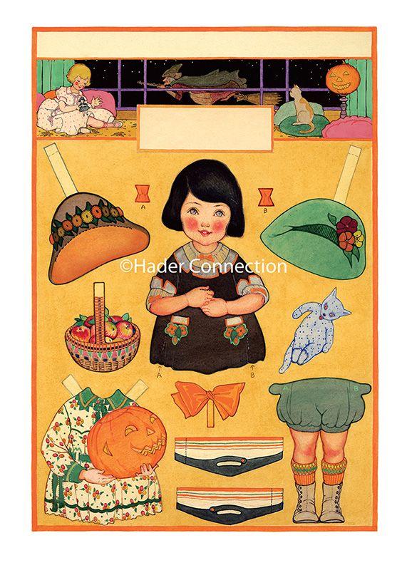 Hader paper doll_Good Housekeeping magazine, Oct. 1923