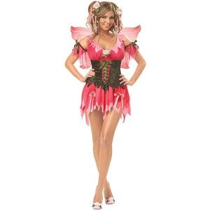 Adult Rose Fairy Costume