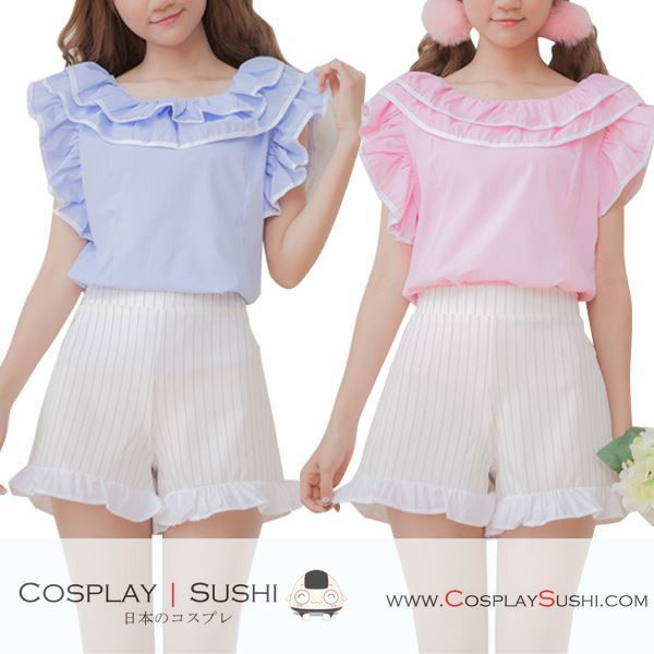 Grab our NEW Chiffon Blouse! SHOP NOW ► http://bit.ly/1Rro5ca Follow Cosplay Sushi for more cosplay ideas! #cosplaysushi #cosplay #anime #otaku #cool #cosplayer #cute #kawaii #blouse #tops #clothes #chiffon #style #design