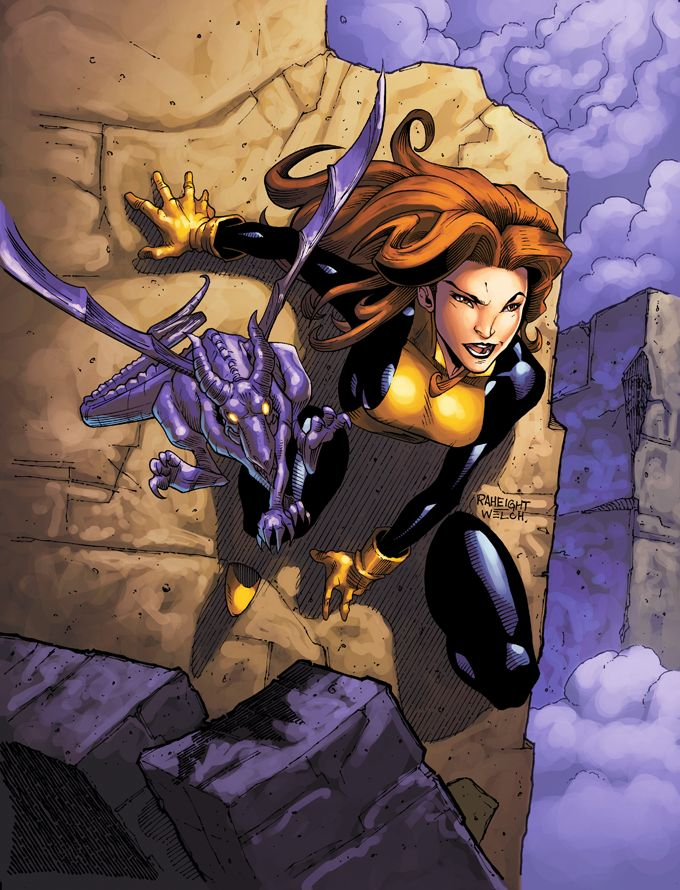 Kitty Pryde and Lockheed by Ray-Anthony Height, Larry Welch, and Tony Washington *