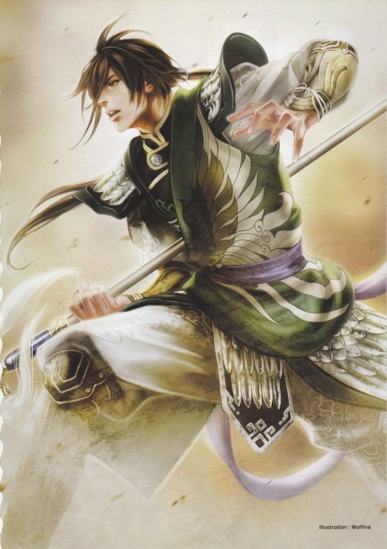 Dynasty Warriors - Jiang Wei