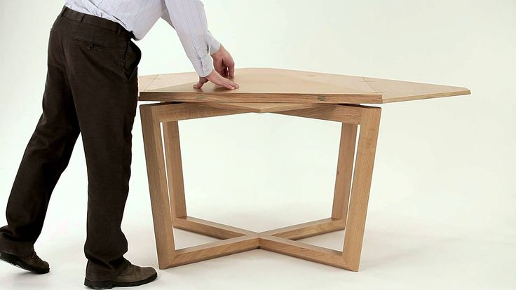 SEER table in oak - amazing expanding table.  Also beautiful round expanding…