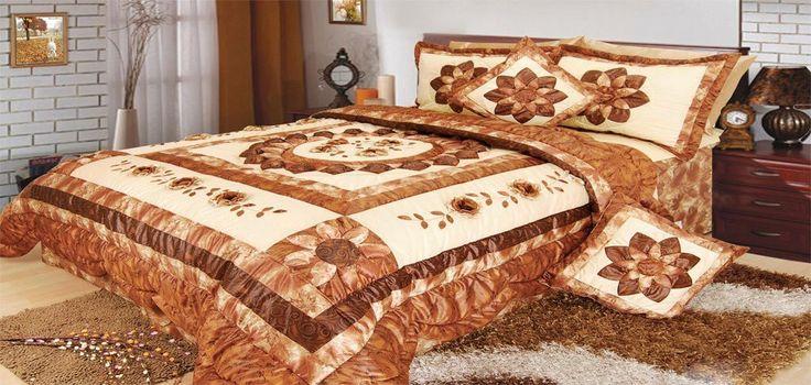 DaDa Bedding Sunflower King Size Quilt Set