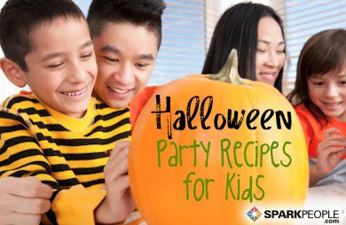 Halloween Party Recipes for Kids: Spooky, silly, fun and creepy things you can make with your kids! | via @SparkPeople #food #fall #SparkMoms