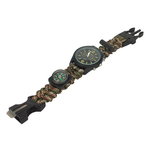 PARACORD OUTDOOR HODINKY HOBART 5 V 1  http://www.outdoorovenaramky.cz/outdoorove-hodinky/paracord-outdoor-hodinky-hobart-5-v-1/