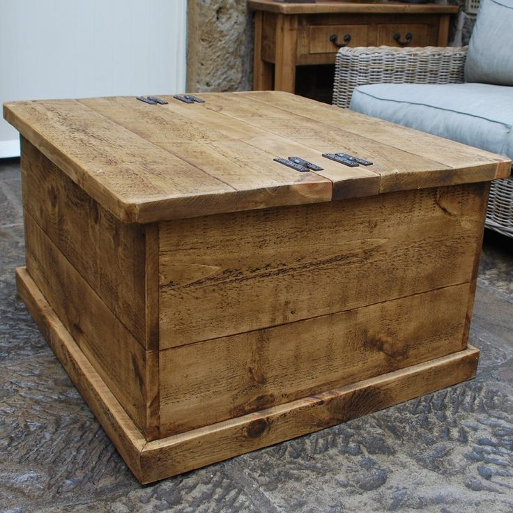 Gulliver S Trunk Coffee Table