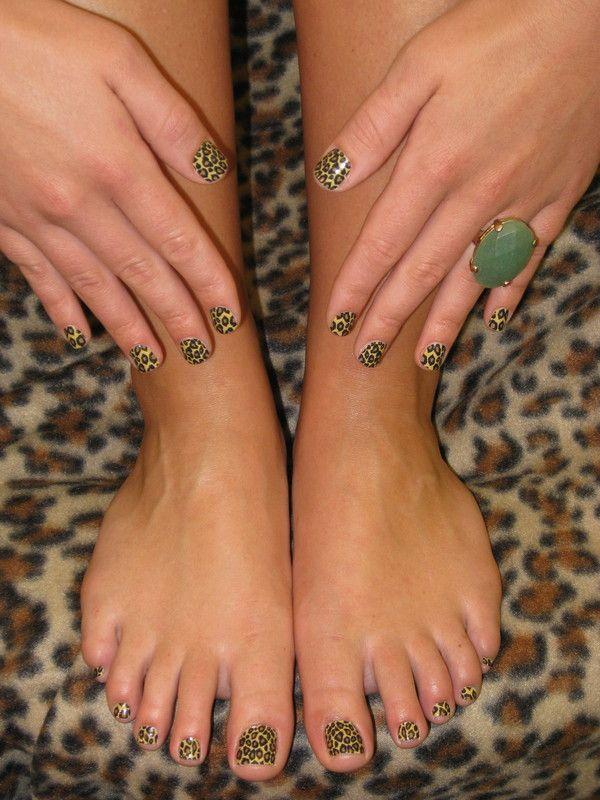 Minx Nails - Cheetah  Nails-By-tract.comMinx Nails, Nails Cheetahs, Nails Art, Nails Design, Cheetah Nails, Nails Exchange, Happy Nails, Cheetahs Nails By Tract Com, Cheetahs Nails By Tracy Com