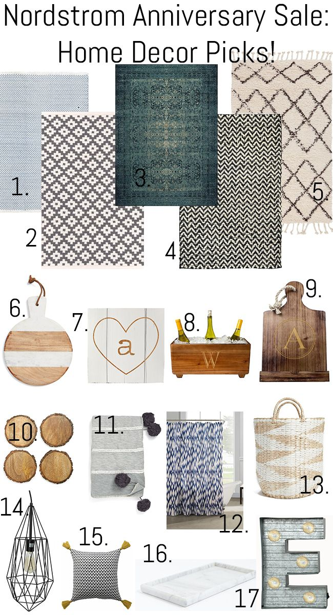 My Home Decor Picks from the Nordstrom Anniversary Sale - There's SO much good stuff this year! via Erin Spain