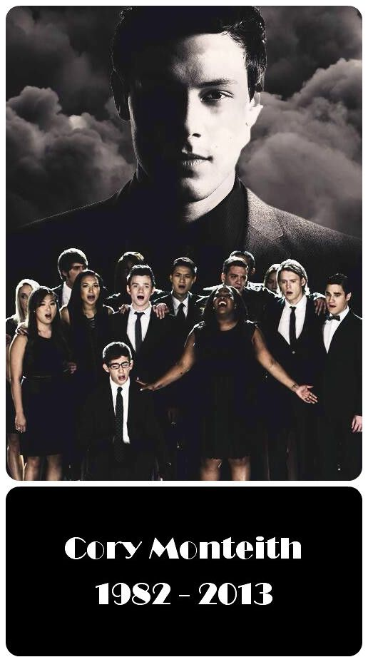 Glee Fin Hudson/Corey Monteith. So sad that he died.