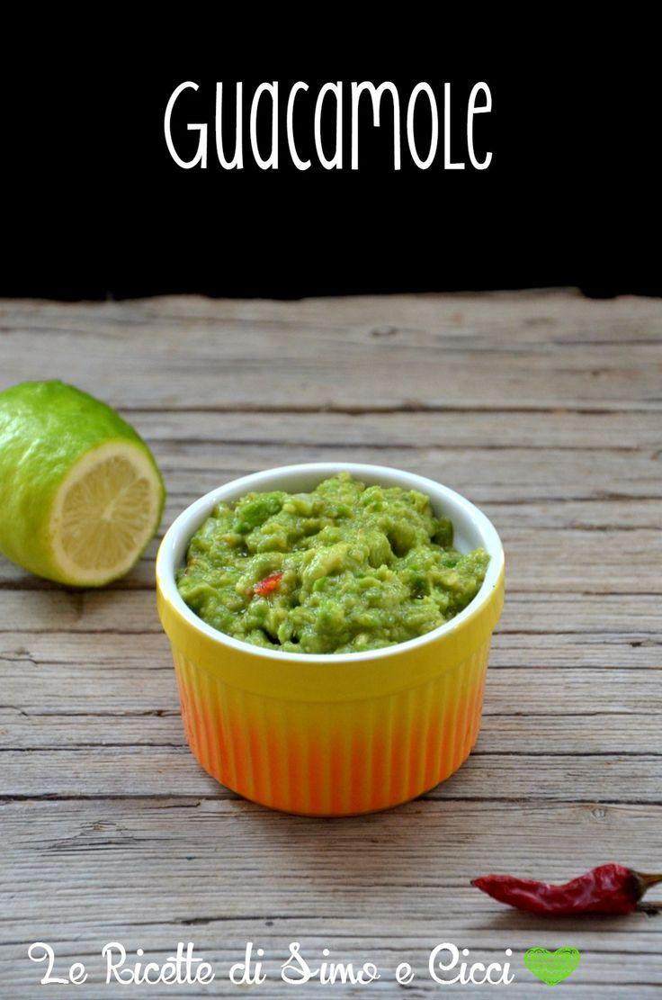 Guacamole ricetta semplice