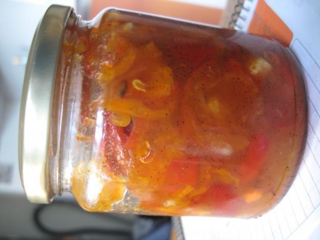 Marmelade af havtorn, hyben, gulerod og æble