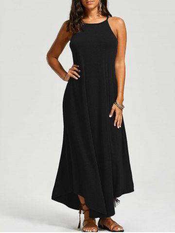 GET $50 NOW   Join RoseGal: Get YOUR $50 NOW!http://www.rosegal.com/casual-dresses/asymmetrical-trim-maxi-dress-1191486.html?seid=9320315rg1191486
