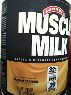 What to do with Muscle Milk- tastes like a milkshake! Perfect protein for post-workouts!