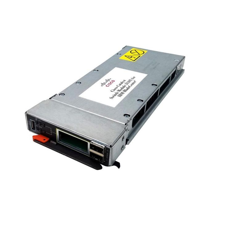 IBM BladeCenter Cisco Catalyst 3110x 10GB Switch Module (No Transceiver Modules Included) 41Y8518 WS-CBS3110X-S-I V03