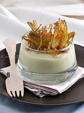 FeelCook cucina per passione: Crema di finocchi con carciofi croccanti
