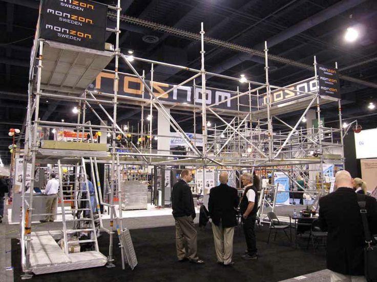 Exhibition Stand Erectors Jobs : Monzon scaffolding exhibitions exhibit pinterest