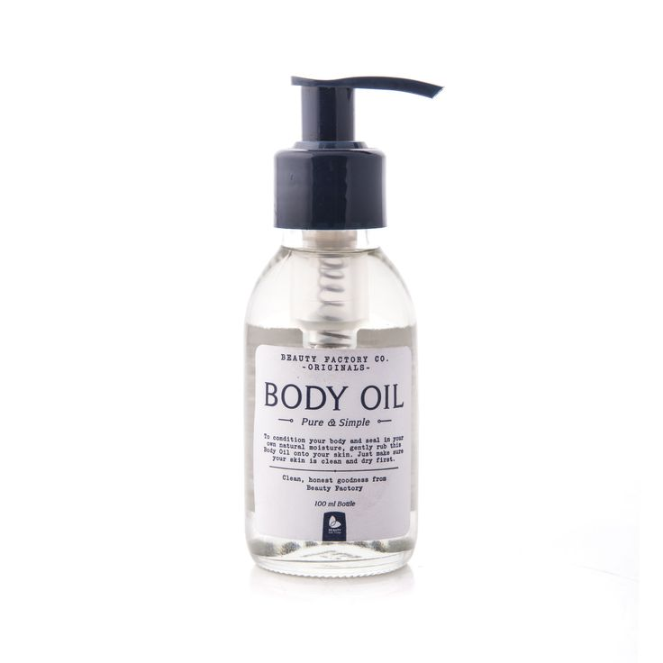 Originals Body Oil 100ml. Pure and simple. Available online from Goodieshub.com