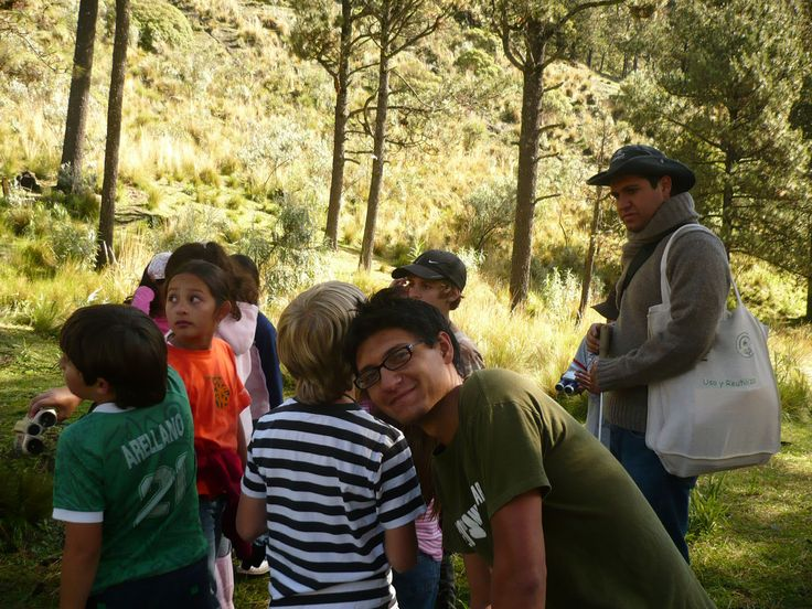 Campamento en el parque Izta - Popo #ipebiosfera #suma2hacemos+