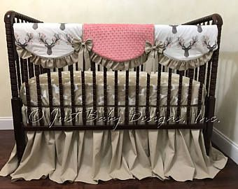 best 20+ deer crib bedding girl ideas on pinterest | forest crib
