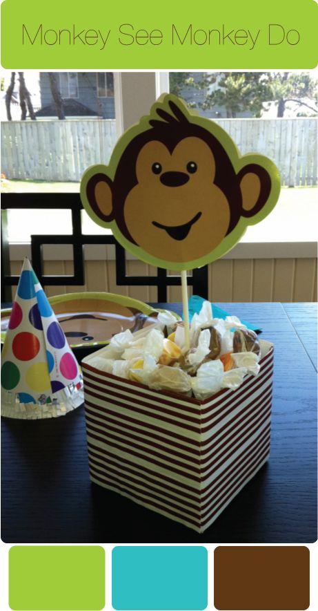 best thelma's monkey baby shower images on   monkey, Baby shower invitation