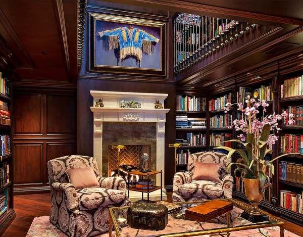 أفضل 10 تصاميم كلاسيكية للمكتبة المنزلية إمتلاكك تصميم مكتبة كلاسيكية في منزلك يشعرك بالراحة والجمال وإليك أف Home Library Design Home Library Classic House