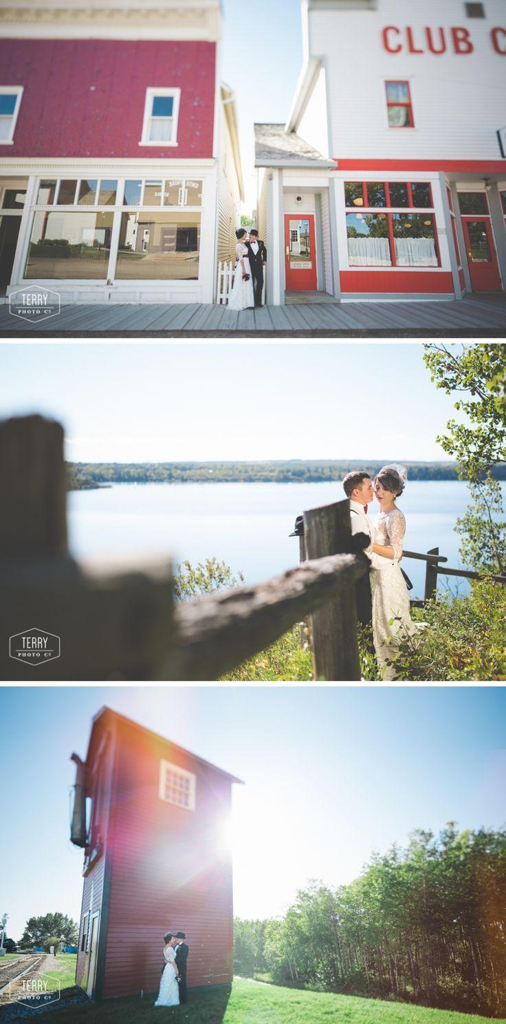 Heritage Park Wedding, Calgary Wedding Photography by Terry Photo Co.