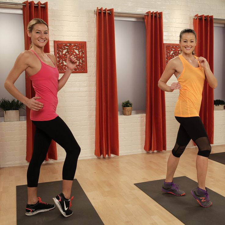 No need to run! You can get your heart rate up in the comfort of your living room! #workout