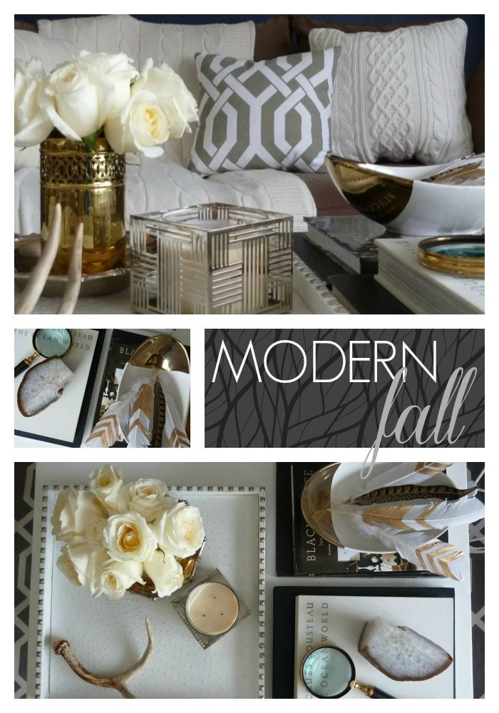 Modern + Fresh Fall Home Tour || Bliss at Home #fall #falldecor: