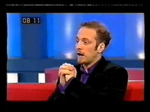 Derren Brown freaks out Richard Blackwood and Edith Bowman - YouTube