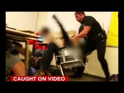 South Carolina Police Officer Cop Throws High School Student Across Classroom - Speechless