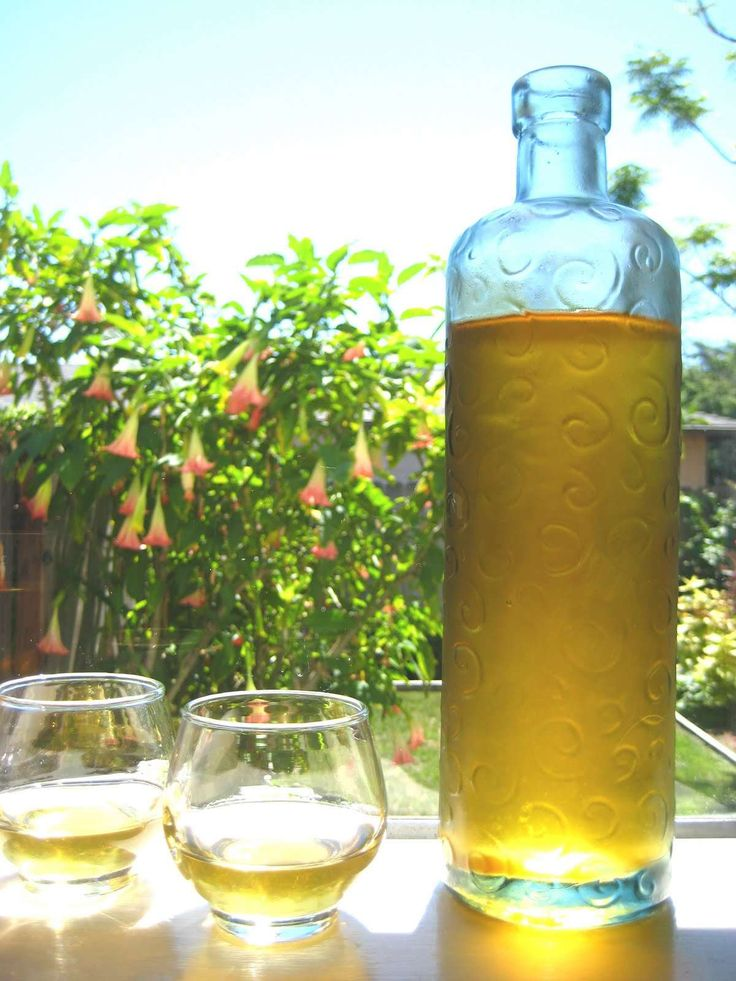 apricot liqueur. Finally something to do with all those apricots.