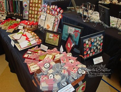 Southern Stamper Craft Fair and Display ideas