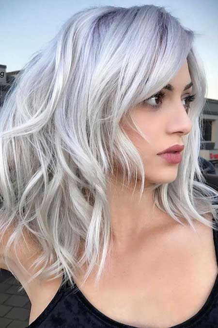 23 Best Medium Length Hairstyles With Bangs For 2018 2019