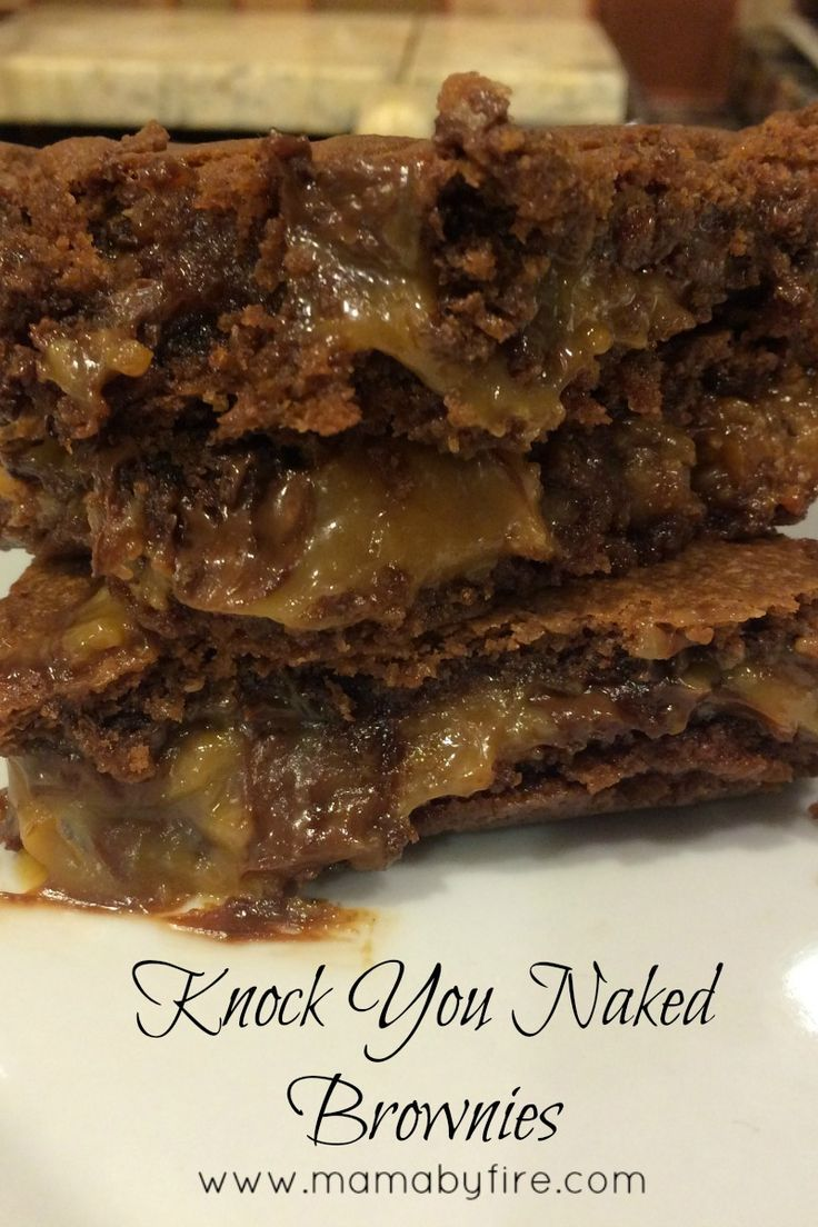 Knock You Naked Brownies